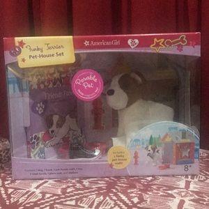 American Girl Other - NIB American Girl Funky Terrier Pet-House Set